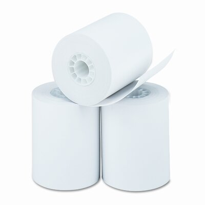 PM Company Thermal Paper Roll, Cash Register / Calculator Roll, 3/Pack