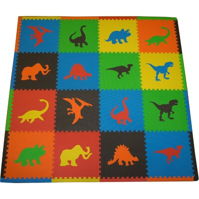 Tadpoles 16 Piece Dino Playmat Set