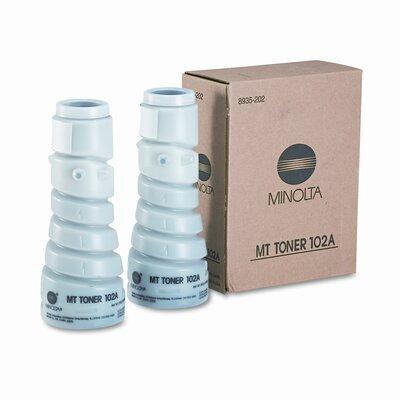 Konica Minolta 8935202 Toner Bottle, 2 Bottles, Black