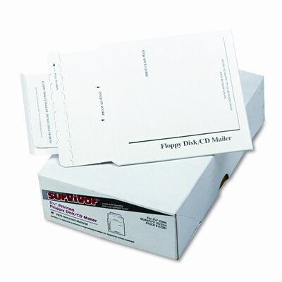 Quality Park Products Tyvek-Lined Multimedia Mailer, 25/Box