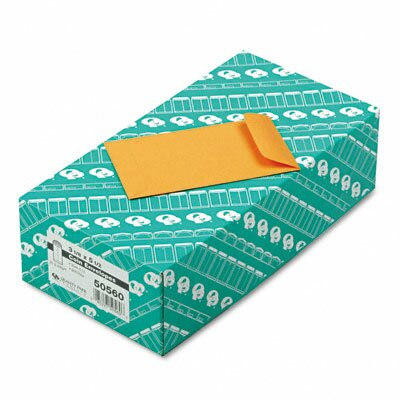 Quality Park Products Kraft Coin and Small Parts Envelope, Side Seam, #5 1/2, 500/Box