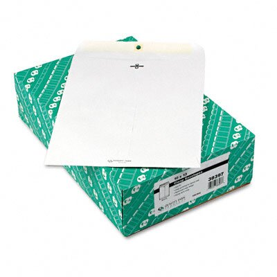 Quality Park Products Clasp Envelope, 10 X 13, 28Lb, 100/Box