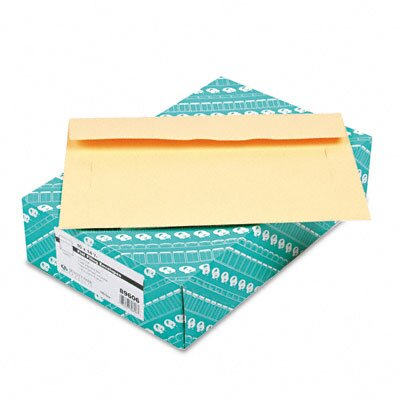 Quality Park Products Filing Envelopes, 10 x 14 3/4, 3 Pt. Tag, Cameo Buff, 100/Bx