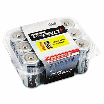 Rayovac® Ultra Pro C Alkaline Battery, 12/Pack