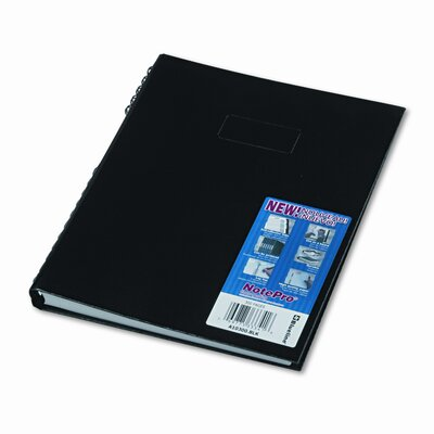 Blueline® Note Pro Business Notebook, College Rule, Letter, White