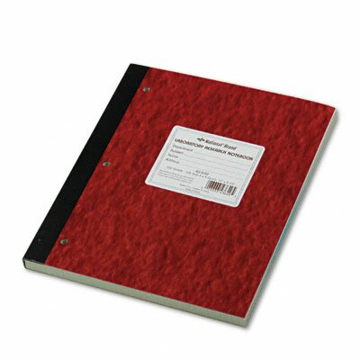 Rediform Office Products Duplicate Lab Notebook, 200 Sheets/Pad