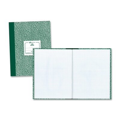 Rediform Office Products Lab Composition Notebook, Quadrille Rule, 10-1/8 x 7-7/8, WE, 60 Sheets