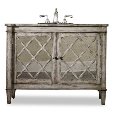 "Designer Series 44"" Single Kelley Chest Bathroom Vanity Set Product Photo"