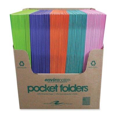 Two Pocket Folders, 11-3/4