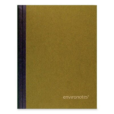 """Roaring Spring Paper Products Comp Book, Colled Ruled, 80/Sheets, 9-3/4""""x7-1/2"""", Earthtones Assorted"""
