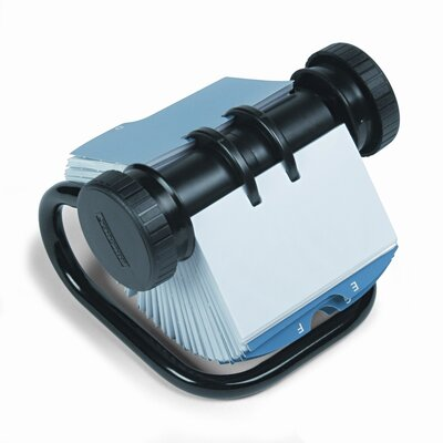 Rolodex Corporation Open Rotary Business Card File