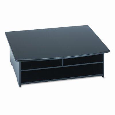 Rolodex Corporation Wood Tones Printer Stand, 21w x 18d, Black