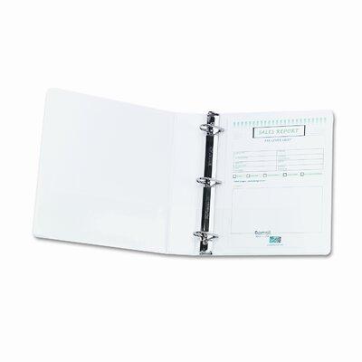 "Samsill Corporation Nonstick View Binder, 11 X 8-1/2, 1-1/2"" Capacity"