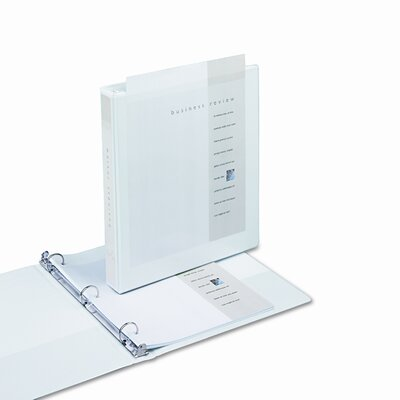 """Samsill Corporation Clean Touch Locking Binder, 1"""" Capacity"""