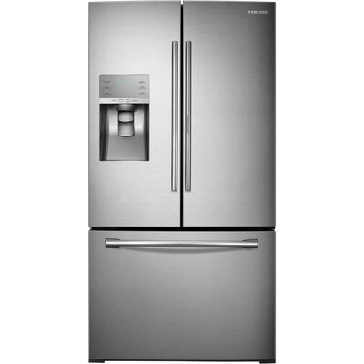20.2 cu. ft. French Door Refrigerator in Stainless Steel with Door-in-Door and Dual Ice Maker Product Photo