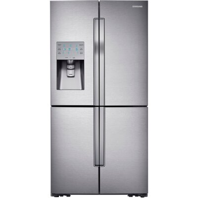 18.1 cu. ft. French Door Refrigerator in Stainless Steel with FlexZone™ Product Photo