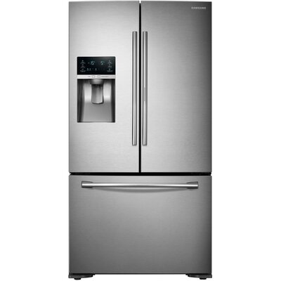 15.6 cu. ft. French Door Refrigerator in Stainless Steel with Door-in-Door Product Photo