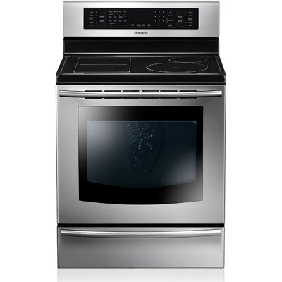5.9 Cu. Ft. Electric Convection Range in Stainless Steel Product Photo