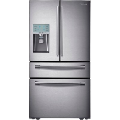 16.41 cu. ft. French Door Refrigerator in Stainless Steel with Automatic Sparkling Water Dispenser Product Photo
