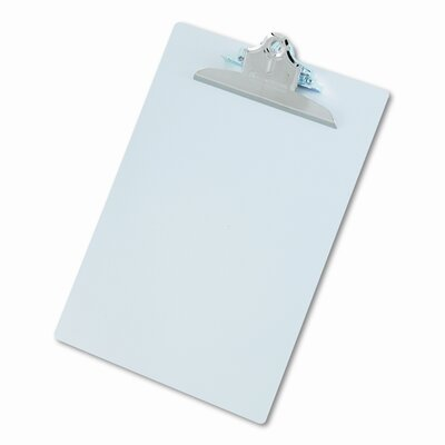 Saunders Manufacturing Aluminum Clipboard with High-Capacity Clip