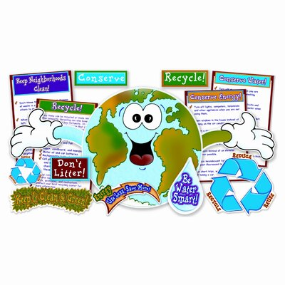Scholastic Love Our Planet Bulletin Board Cut Out