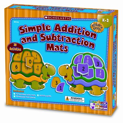 Scholastic Addition and Subtraction Mats Kit