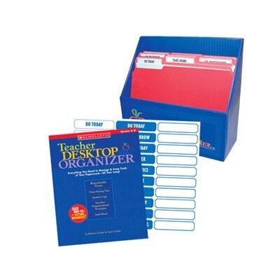 Scholastic Instant Desktop Organizer Lesson Planner and Record Book