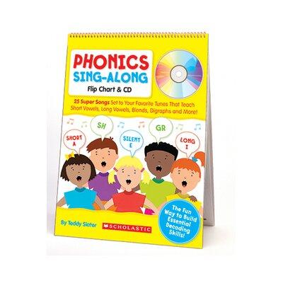 Scholastic Phonics Sing-along Flip CD