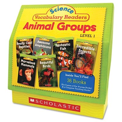 Science Vocabulary Readers Book by Scholastic