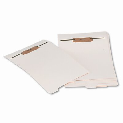 Smead Manufacturing Company Stackable End Tab Folder Dividers with Fastener, Letter, 10 Sets/Pack