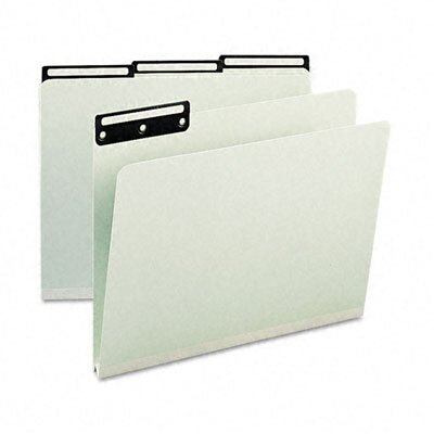 Smead Manufacturing Company One Inch Expansion Metal Tab Folder, 25/Box