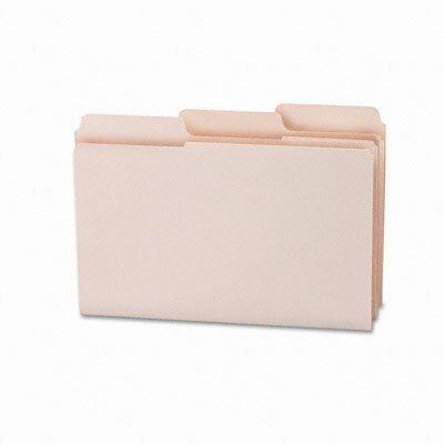 Smead Manufacturing Company 1/3 Cut Top Tab Supertab File Folders, 100/Box