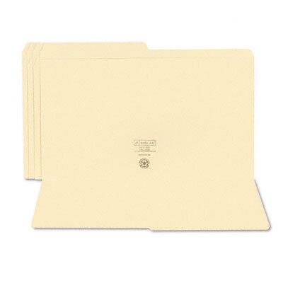 Smead Manufacturing Company File Folders, 1/2 Cut, 100/Box