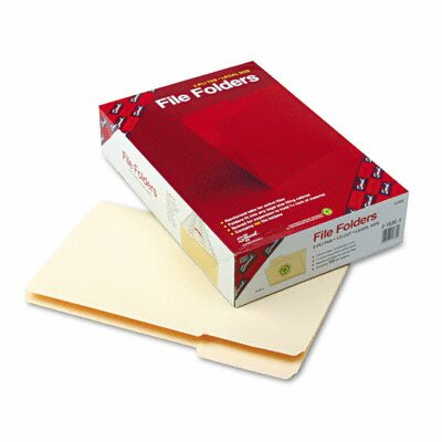 Smead Manufacturing Company 1/3 Cut First Position File Folder, 100/Box