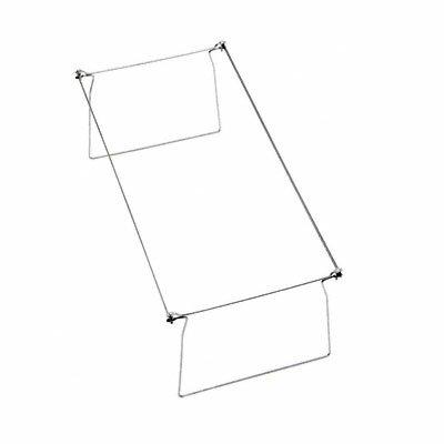 Smead Manufacturing Company Steel Hanging Folder Frame, Letter Size, 2/Box