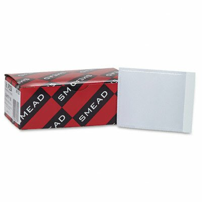 Smead Manufacturing Company Self-Adhesive Poly Pockets, Top Load, 100/Box