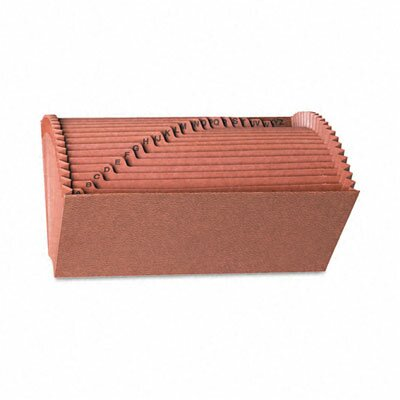 Smead Manufacturing Company A-Z Open Accordion Expanding File, 21 Pockets