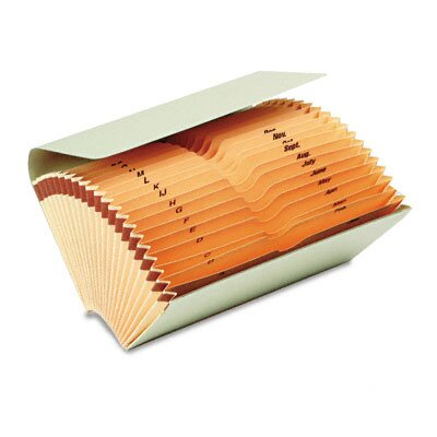 Smead Manufacturing Company Bankers' Check File Folder with Pockets
