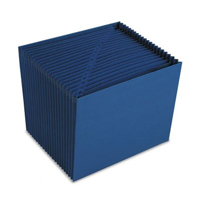 Smead Manufacturing Company Heavy-Duty A-Z Open Top Accordion Expanding Files, 21 Pockets, Letter