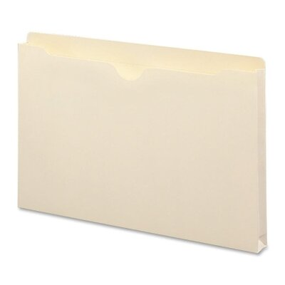 "Smead Manufacturing Company File Jackets with 2-Ply Top and 1"" Accordion Expansion, 50/Box"