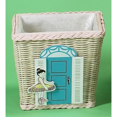 Waste Basket with Dance Studio Motif by Gift Mark
