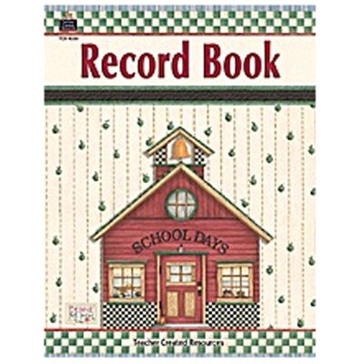 Teacher Created Resources Dm Record Book