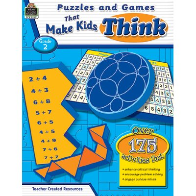 Teacher Created Resources Puzzles And Games That Make Kids Book
