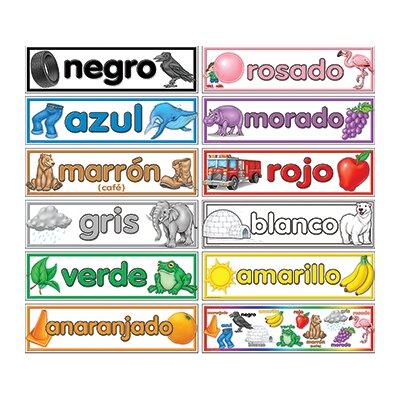 Teacher Created Resources Colors Spanish Headliners Chart