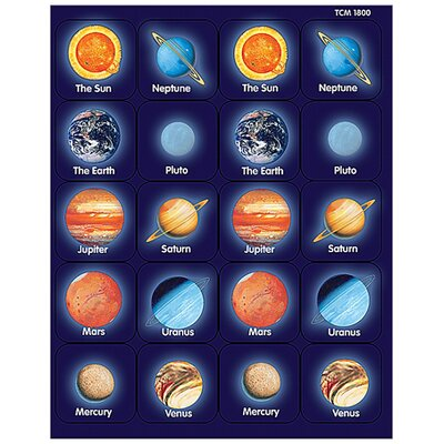 Teacher Created Resources Planets Thematic Sticker