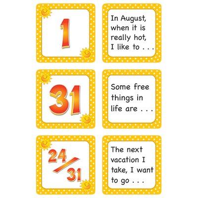 Teacher Created Resources August Polka Dots Calendar Days Calendars Accessory