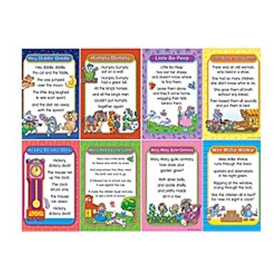 Teacher Created Resources Nursery Rhymes Bulletin Board Cut Out Set 1