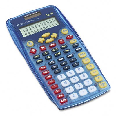 Texas Instruments TI-15 Explorer Calculator 10-Digit Display