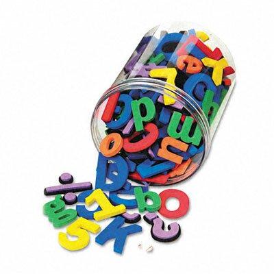 The Chenille Kraft Company Wonderfoam Magnetic Alphabet Letters, 105/Pack