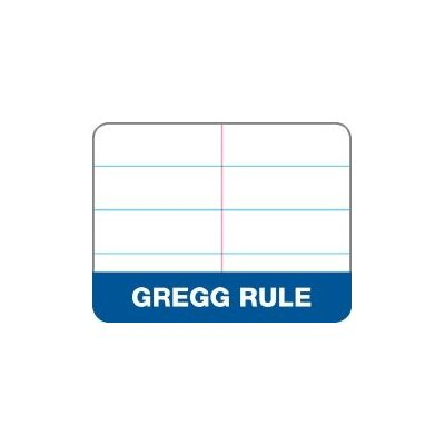 """Tops Business Forms Steno Book, Gregg Rule, 80 Sheets, 6""""x9"""", 12/PK, White"""